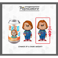 Child's Play - Chucky with a CHANCE OF A CHASE - Soda Vinyl Figurines