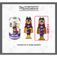 Batgirl with a CHANCE OF A CHASE - Soda Vinyl Figurines