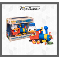 Disneyland 65th Anniversary: Donald in Train Engine - Pop Vinyl