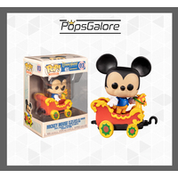 Disneyland 65th Anniversary: Mickey in Train Engine - Pop Vinyl + 0.35mm Pop Protector