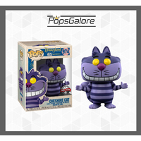 Disneyland 65th Anniversary: Cheshire Cat #974 - Pop Vinyl + 0.35mm Pop Protector