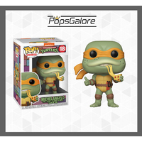 "TMNT - Michelangelo ""Retro"" #18 - Pop Vinyl"