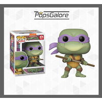 "TMNT - Donatello ""Retro"" #17 - Pop Vinyl"