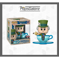 Disneyland 65th Anniversary: Mad Hatter Teacup #87 - Ride Pop Vinyl