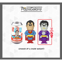 Superman with a CHANCE OF A CHASE - Soda Vinyl Figurines