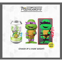 TMNT - Donatello with a CHANCE OF A CHASE - Soda Vinyl Figurines