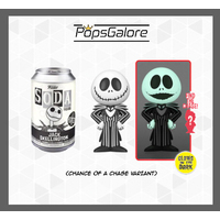 The Nightmare Before Christmas - Jack Skellington with a CHANCE OF A CHASE - Soda Vinyl Figurines