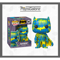 "DC Superheroes - Batman ""Blue & Yellow"" #02 with Hard Case Protector - Pop Vinyl"