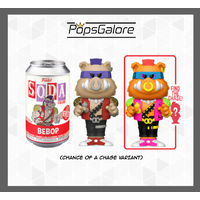 TMNT: Bebop with a CHANCE OF A CHASE - Soda Vinyl Figurines