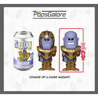 Marvel - Thanos with a CHANCE OF A CHASE - Soda Vinyl Figurines