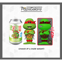 TMNT - Raphael with a CHANCE OF A CHASE - Soda Vinyl Figurines