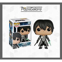 Sword Art Online - Kirito #82 - Pop Vinyl + 0.60mm Pop Protector