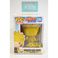 Naruto Shippuden - Naruto Six Path #186 (GITD & Hot Topic) - Pop Vinyl