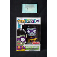 Plants vs Zombies - Super Brainz (Target) - Pop Vinyl