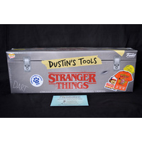 Stranger Things - Toolbox with Dustin Pop & T-Shirt Size M - Box Set
