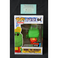 "Pez - Mimic the Monkey ""Green"" (2019 NYCC Fall Convention) - Pop Vinyl"