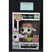 Rick Morty: Tinkles / Ghost in a Jar #256 (2017 SDCC Summer Convention) - Pop Vinyl