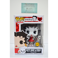 Betty Boop & Pudgy #421 (Limited Chase Edition) - Pop Vinyl