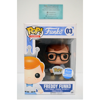 "Freddy Funko #03 ""Hipster"" (Funko Shop) - Pop Vinyl"