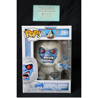 "Abominable Snowman ""Diamond"" #289 (Disney Parks) - Pop Vinyl"