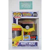 "BTTF: Marty McFly #815 ""Hazmat Suit/Darth Vader"" (2019 NYCC Fall Convention) - Pop Vinyl"
