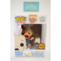 Rocko's Modern Life: Rocko with Spunky #320 (Limited Chase Edition) - Pop Vinyl