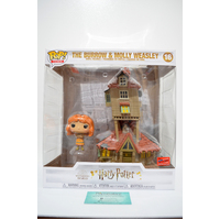 Harry Potter: The Burrow & Molly Weasley #16 (2020 NYCC Con Sticker) - Pop Town Vinyl **Some box damage