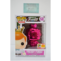 "Freddy Funko ""Pink Chrome"" #SE (1000PCS 2018 SDCC) - Pop Vinyl"