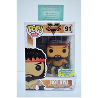 Street Fighter: Hot Ryu #91 (Convention Exclusive 2016) - Pop Vinyl