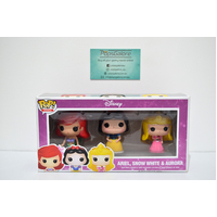 Disney Princess 3-Pack - Mini Pop Vinyl