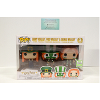 "Harry Potter"" Ginny, Fred & Geogre Weasley (2019 ECC Spring Convention) - 3-Pack Pop Vinyl"
