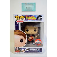 "BTTF: Marty McFly ""Guitar"" #602 (2018 Canadian Convention) - Pop Vinyl"