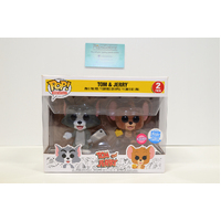 "Tom & Jerry ""Flocked"" (Funko Shop) - 2-Pack Pop Vinyl **Some Box Damage"