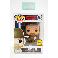 Stranger Things: Hopper #512 (Limited Chase Edition) - Pop Vinyl ***Cut on box