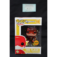"DC Universe - The Flash #10 ""Yellow Box"" (Limited Edition Chase) - Pop Vinyl"