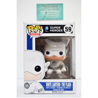 DC Superheroes - White Lantern Flash #59 - Pop Vinyl