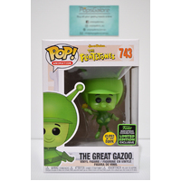 The Flintstones - The Great Gazoo #743 GITD (2020 ECCC Spring Convention) - Pop Vinyl