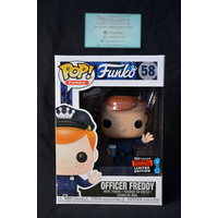 Freddy Funko - Officer Freddy #58 (2019 Fall Convention) - Pop Vinyl