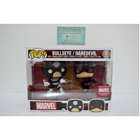 Bullseye Daredevil (Marvel Collector Corps) 2-Pack - Pop Vinyl