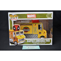 Deadpool's Chimchanga Truck #10 (Yellow) - Pop Ride