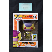 Golden Frieza Red Eyes (2015 SDCC) - Pop Vinyl