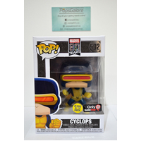 "Marvel 80years: Cyclops ""GITD"" #502 (Gamestop) - Pop Vinyl"
