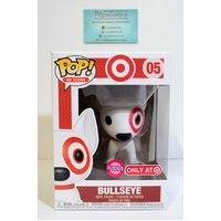 "Bullseye Gold Collar ""Flocked"" #05 (Target) - Pop Vinyl"