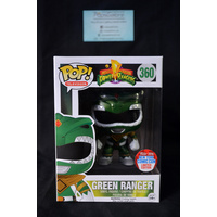 Green Ranger #360 (2016 NYCC) - Pop Vinyl