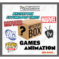 Mystery Box of 5 Funko Pop Vinyls
