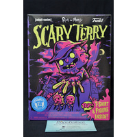 Scary Terry Neon (Only at Gamestop) Pop Vinyl & X-Large T-Shirt Box Set