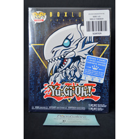 Yu-Gi-Oh Blue Eyes White Dragon Pop Vinyl & Large T-Shirt Box Set