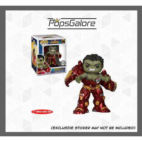 "Avengers 3: Infinity War - Hulk Busting Out of Hulkbuster 6"" - Pop Vinyl"