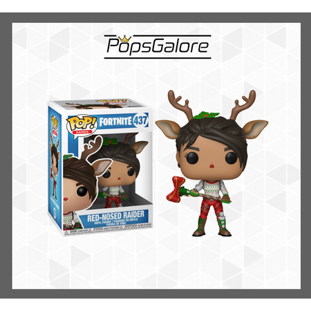 Fortnite - Red-Nosed Raider #437 - Pop Vinyl