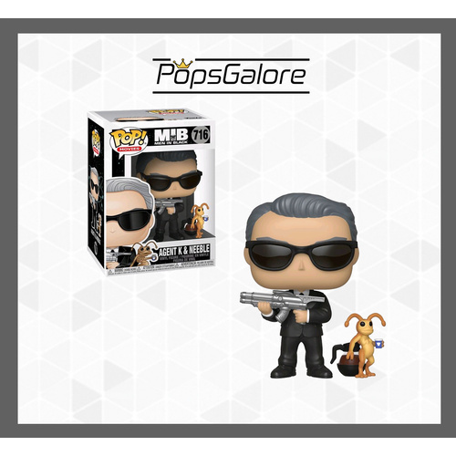 Men in Black - Agent K & Neeble - Pop Vinyl